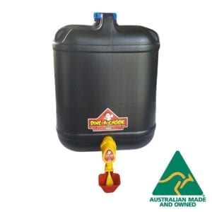 DDine A Chook Drum Chicken Drinker